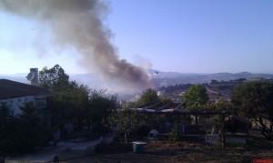 Πυρκαγιά Μαρκοπούλου-2 Αυγούστου 2013